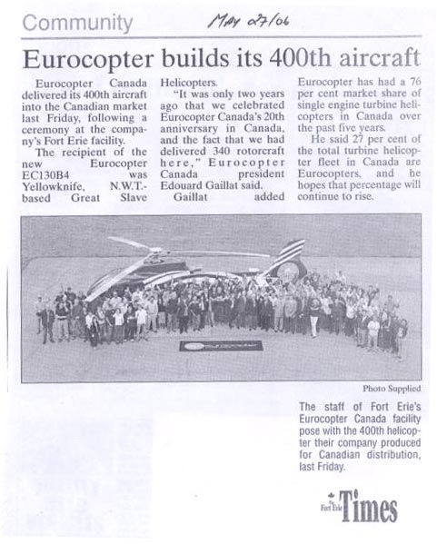 Eurocopter Article