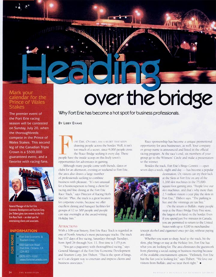 Heading Over the Bridge Article