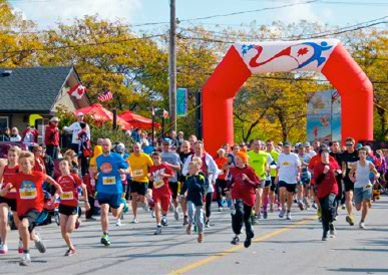 Crystal Beach's Annual 5K Run